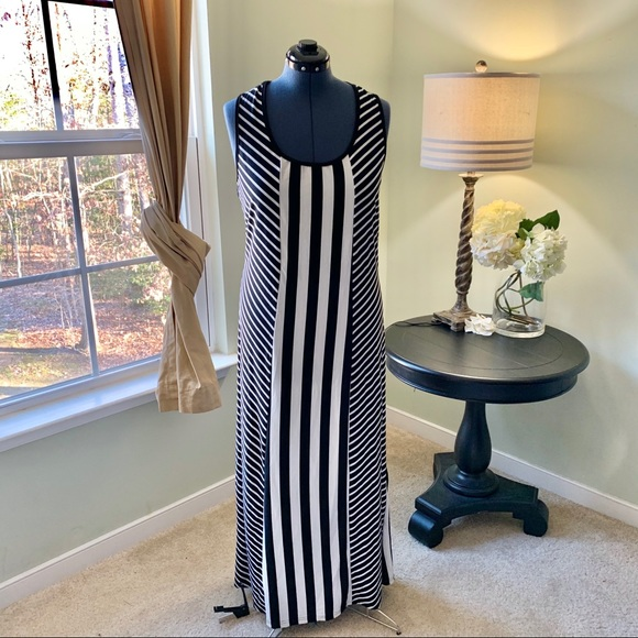 Just Love Dresses & Skirts - Just Love Striped Maxi Dress Size 1X